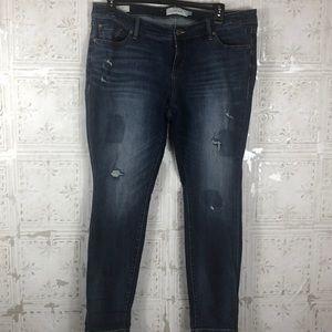 Torrid | Distressed Skinny Jean